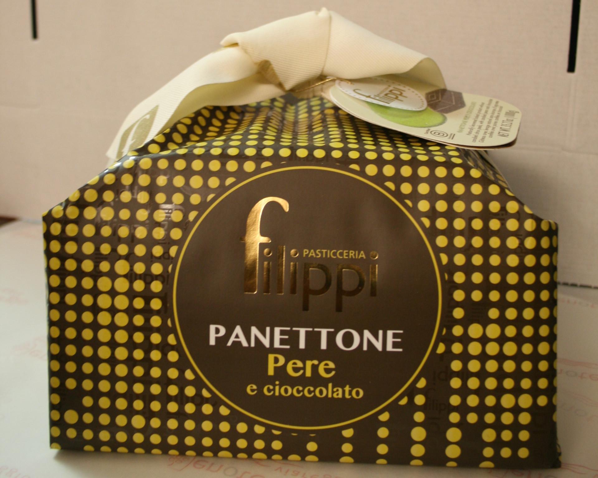 Panettone Cioccolato e Pere Pasticceria Filippi