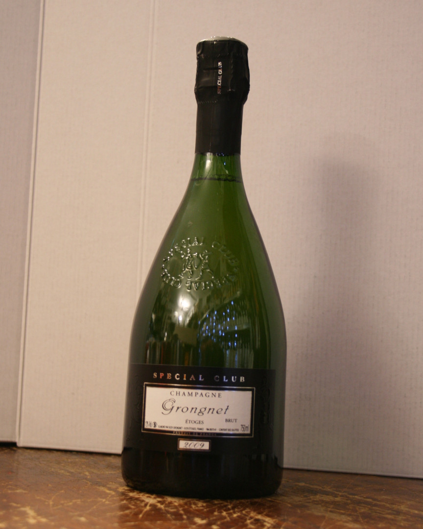 Champagne Grongnet Brut Special Club 2009