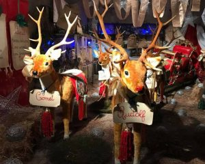 campi bisenzio firenze il mondo di babbo natale la slitta con le renne