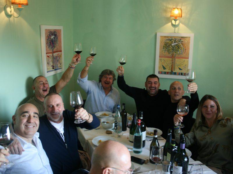 Il pranzo della Gallina a Santa Lucia di Camaiore osteria Il Vignaccio