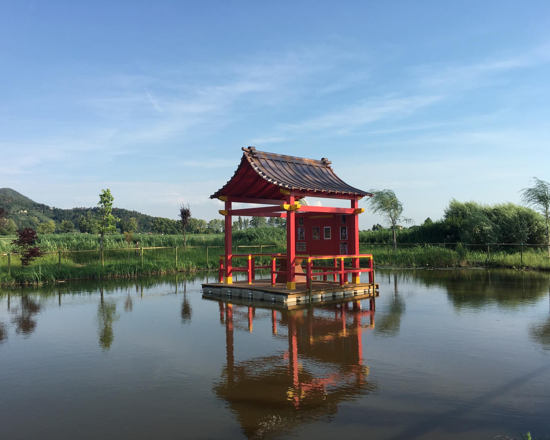 podere lovolio massarosa fondazione pomara scibetta la pagoda galleggiante