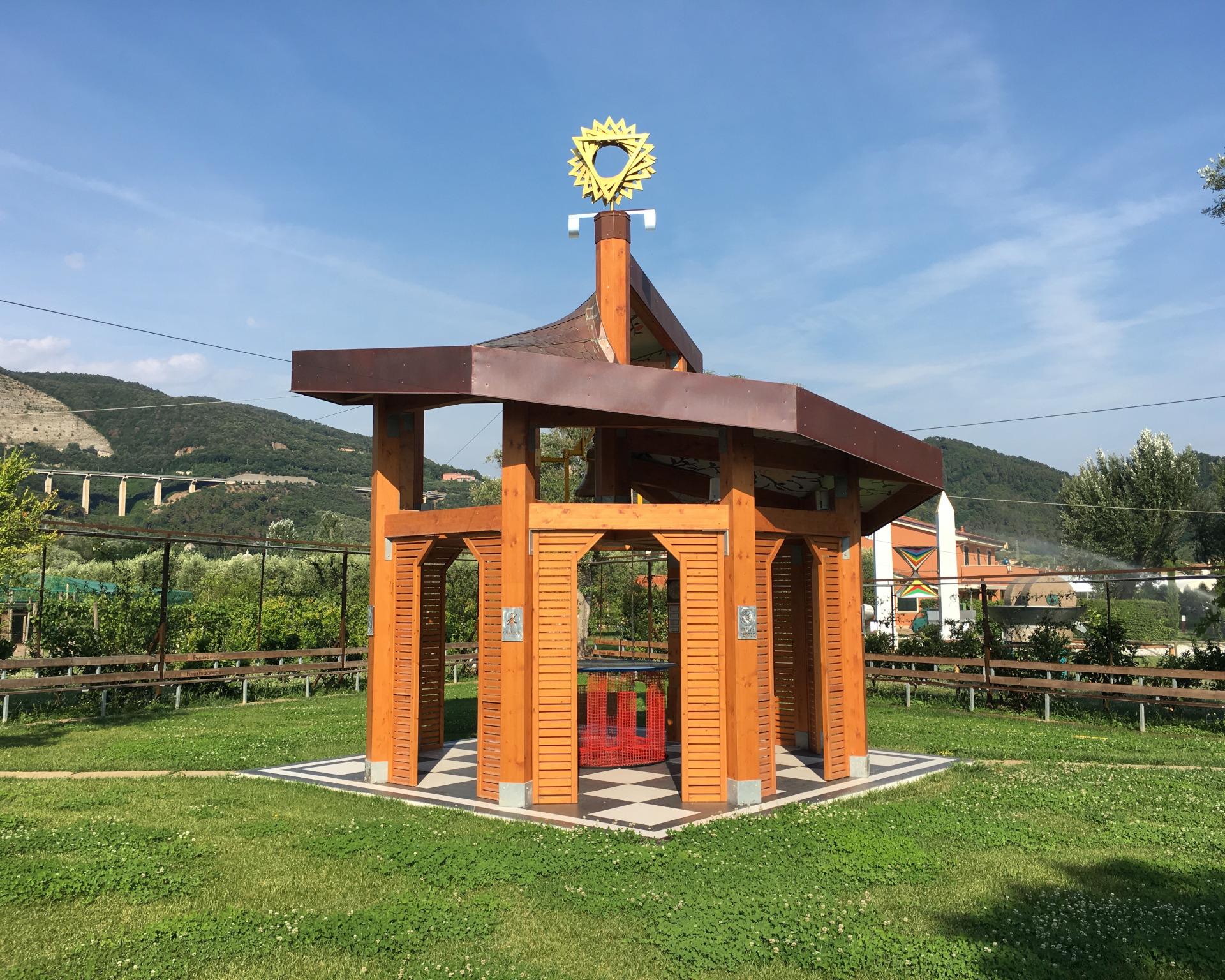 podere lovolio massarosa fondazione pomara scibetta tempio sincretico di meditazione universale