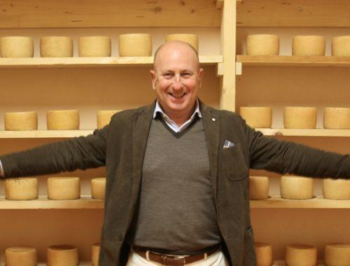 Gabriele Ghirlanda food maker e papà dello Scoppolato di Pedona