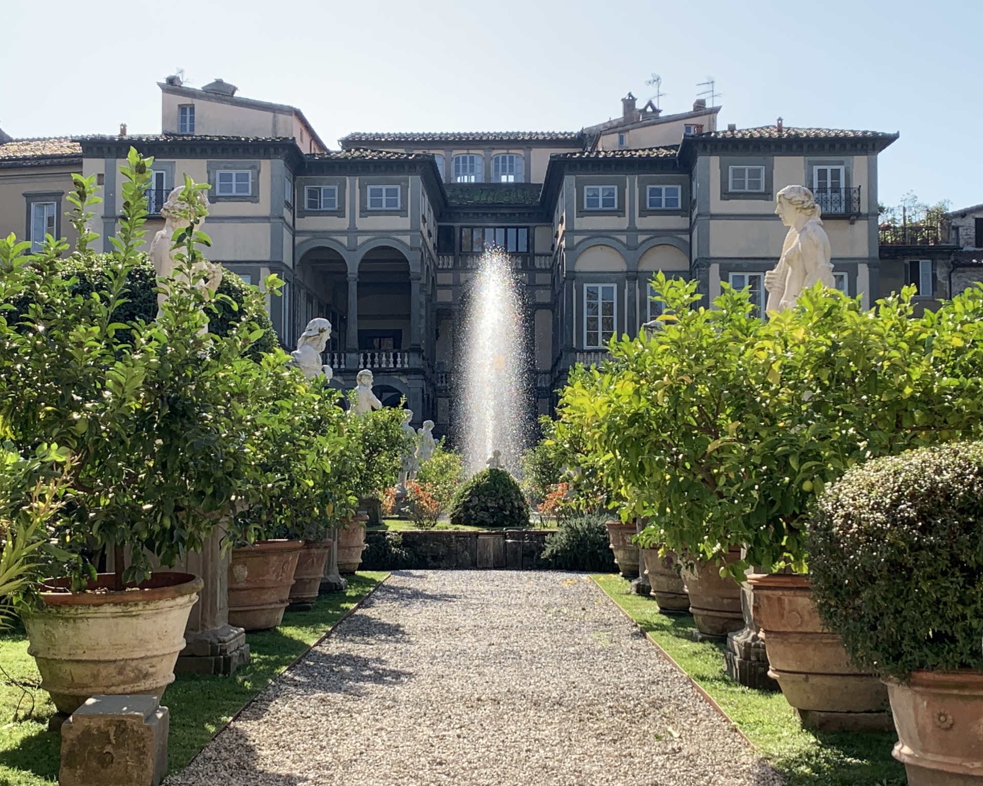 Palazzo Pfanner a Lucca