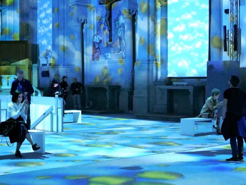 Inside Magritte E-motion Exhibition Firenze