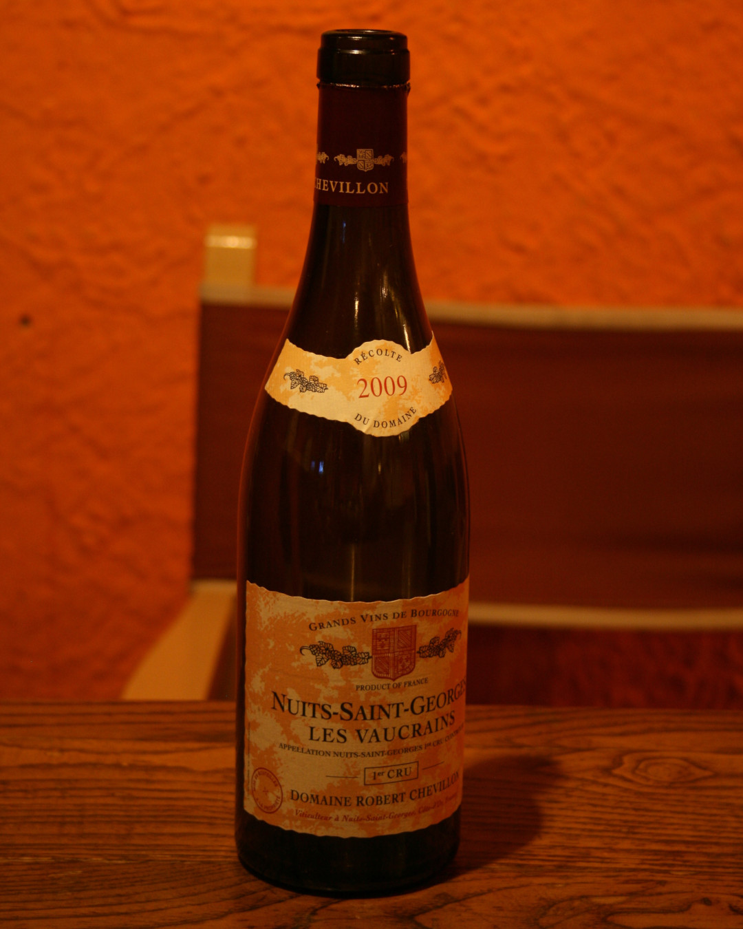 Nuit Saint Georges les Vaucrains 2009 Robert Chevillon