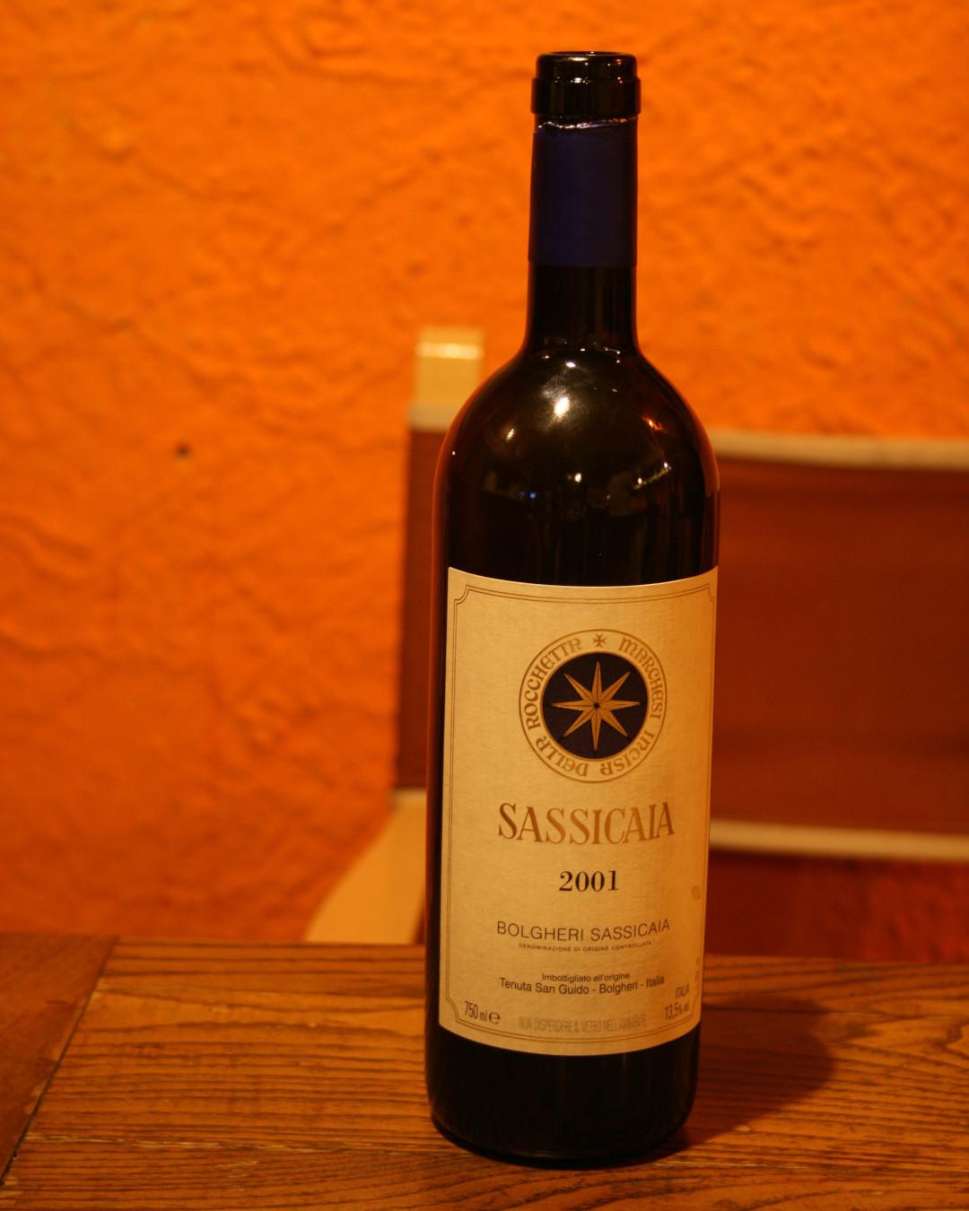Sassicaia 2001 Tenuta San Guido