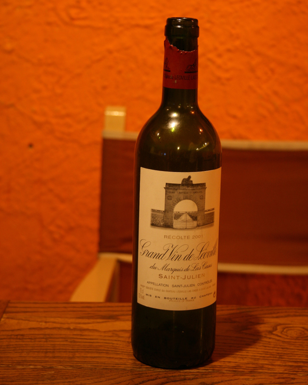 Grand Vin de Léoville 2001 Châteaux Léoville Las-Cases