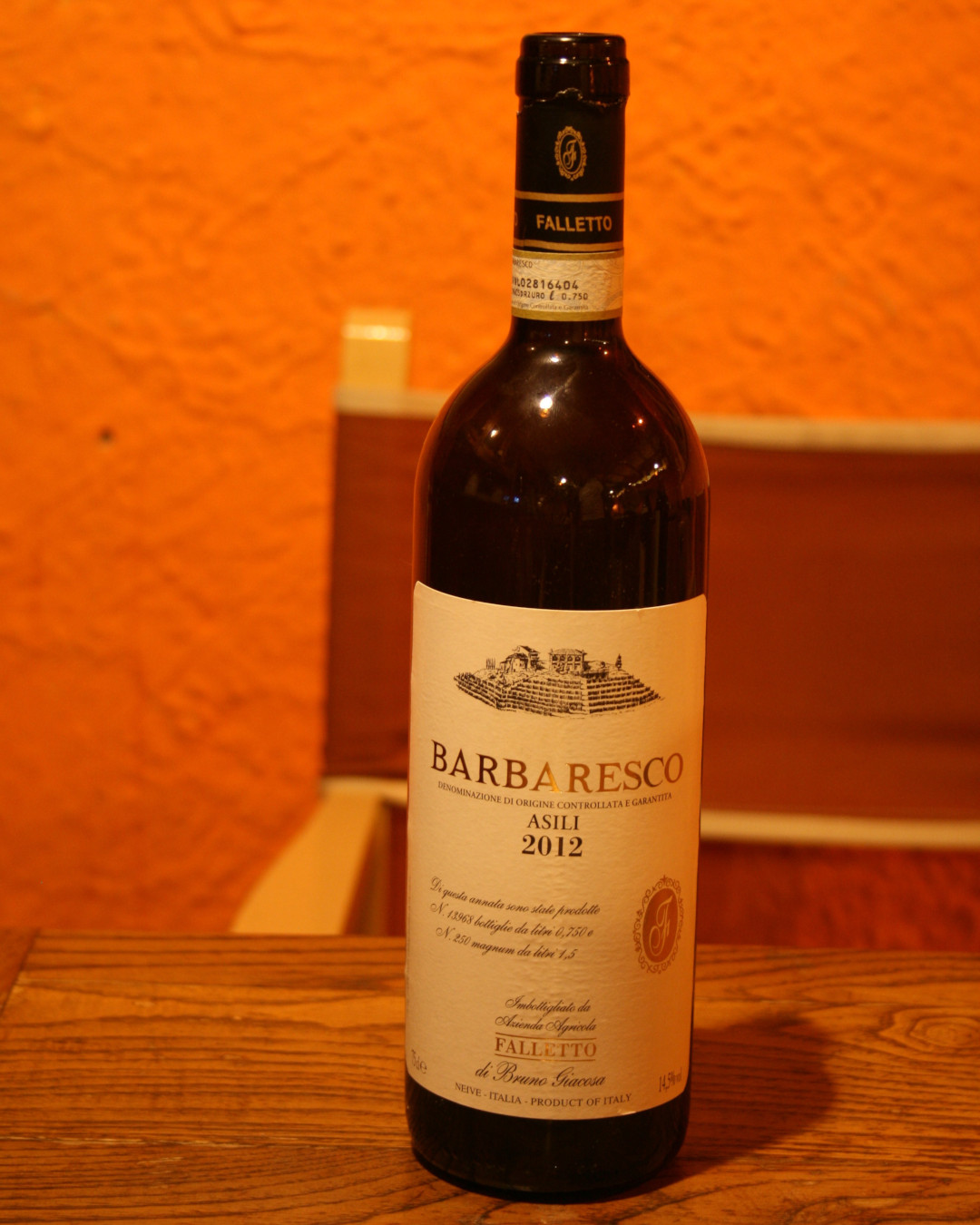 Barbaresco Asili 2012 Bruno Giacosa